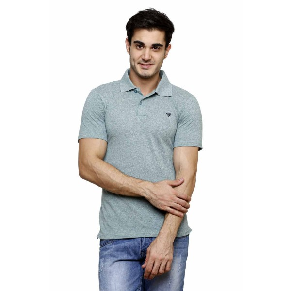 Gypsum Mens Polo Tshirt Green Color GYPMPT-00175
