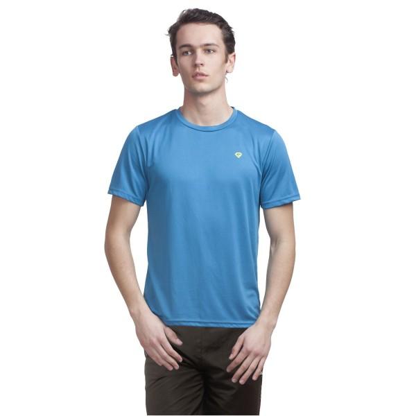 Gypsum Mens Round Neck Tshirt Royal Blue Color GYPMRN-00109