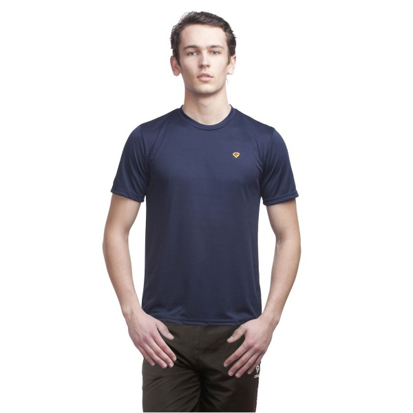 Gypsum Mens Round Neck Tshirt Navy Color GYPMRN-00110