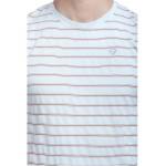 Gypsum Mens Stripe Round Neck Tshirt Off White Color GYPMRN-00121