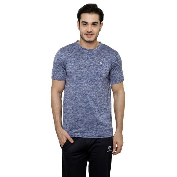 Gypsum Mens Round Neck Tshirt Black Color GYPMRN-00132