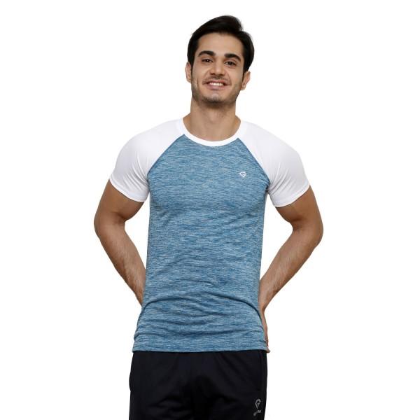 Gypsum Mens Round Neck Tshirt White Color GYPMRN-00145