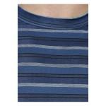 Gypsum Mens Striper Round Neck Tshirt Navy Color GYPMRN-00161