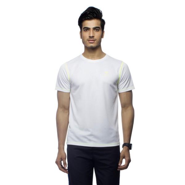 Gypsum Mens Round Neck Tshirt White Color GYPMRN-0061