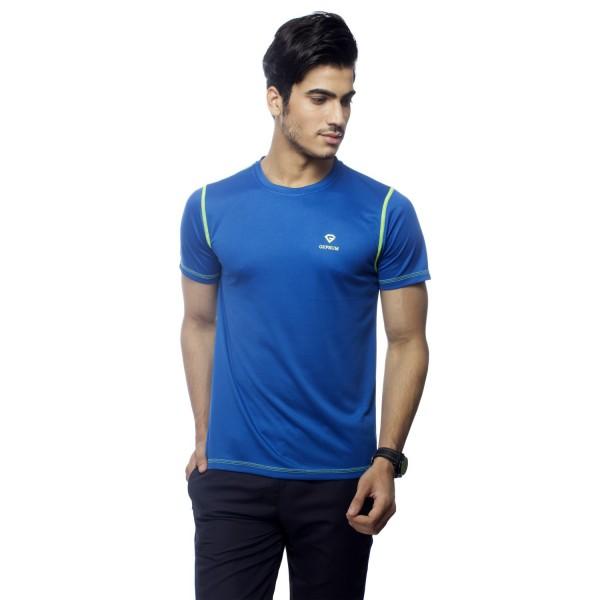 Gypsum Mens Round Neck Tshirt Royal Blue Color GYPMRN-0063