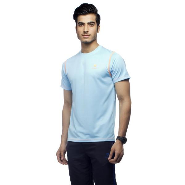 Gypsum Mens Round Neck Tshirt Sky Blue Color GYPMRN-0064