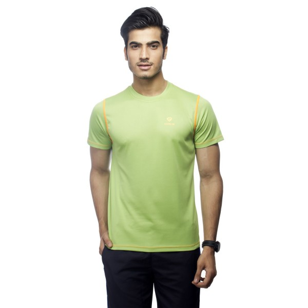 Gypsum Mens Round Neck Tshirt Sea Green Color GYPMRN-0065