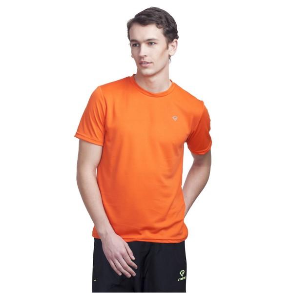 Gypsum Mens Round Neck Tshirt Orange Color GYPMRN-0097