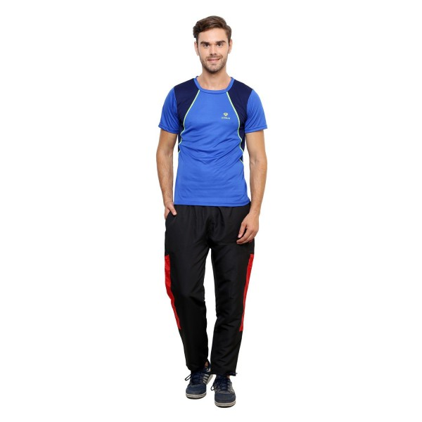 Gypsum Mens Round Neck Tshirt Royal Blue Color GYPMRN-024