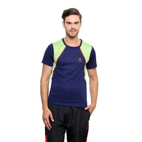 Gypsum Mens Round Neck Tshirt Navy Color GYPMRN-025