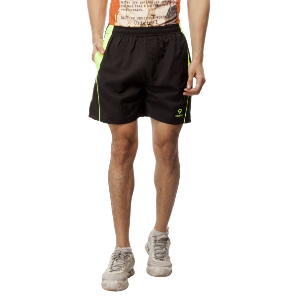 Gypsum Mens Shorts Black Color GYPMS-0043