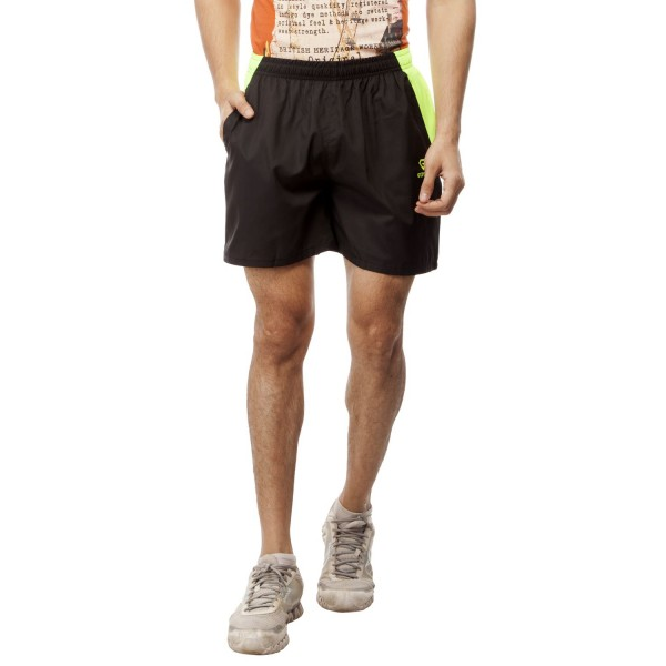 Gypsum Mens Shorts Black Color GYPMS-0047