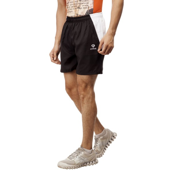 Gypsum Mens Shorts Black Color GYPMS-0050