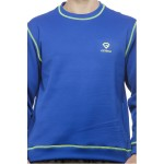 Gypsum Mens Sweat Tshirt Royal Blue Color GYPMST-0090