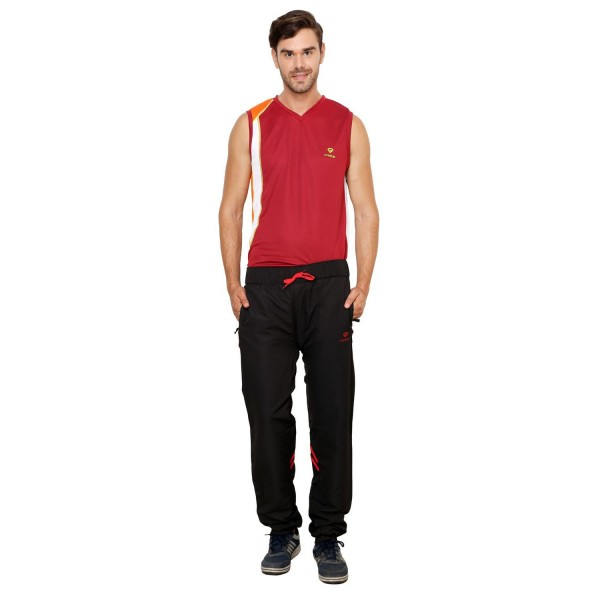 Gypsum Mens Trackpant Black Color GYPMTP-010