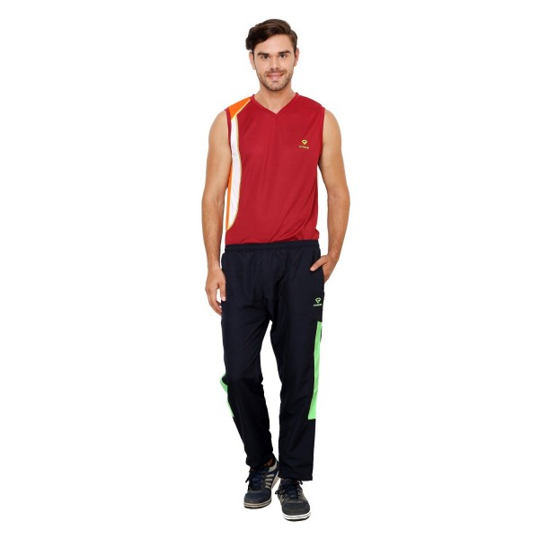 Gypsum Mens Trackpant Black Color GYPMTP-02