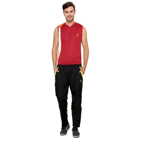 Gypsum Mens Trackpant Black Color GYPMTP-05