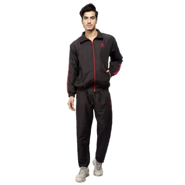 Gypsum Mens Tracksuit Black Color GYPMTS-0046