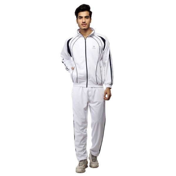 Gypsum Mens Tracksuit White Color GYPMTS-0048