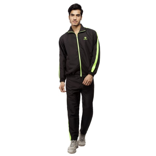 Gypsum Mens Tracksuit Black Color GYPMTS-0050