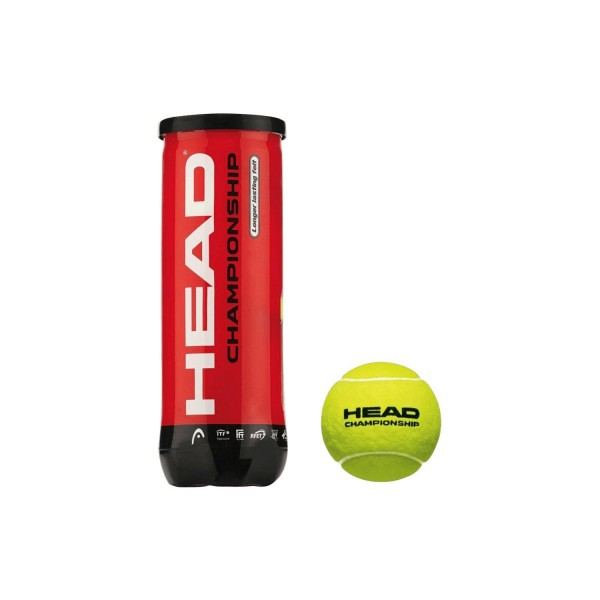 Head Championship Tennis Balls (Pack of 3)