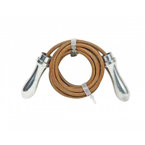 Invincible Aluminum Handel Leather Jump Rope