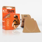KT Tape Pro Pre-Cut 20 Strip Synthetic Stealth Beige
