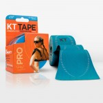 KT Tape Pro Pre-Cut 20 Strip Synthetic Sonic Blue