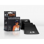 KT Tape Original Pre-Cut 20 Strip Cotton Black