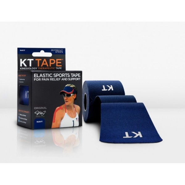 KT Tape Original Pre-Cut 20 Strip Cotton Navy