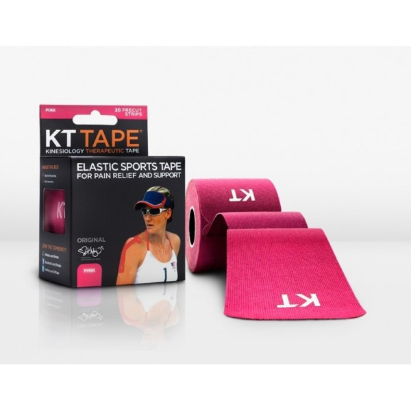 KT Tape Original Pre-Cut 20 Strip Cotton Pink