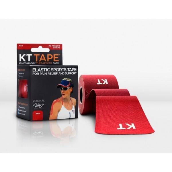 KT Tape Original Pre-Cut 20 Strip Cotton Red