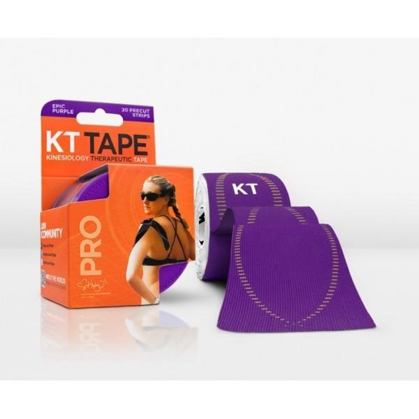 KT Tape Pro Pre-Cut 20 Strip Synthetic Epic Purple