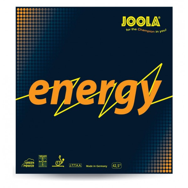 Joola JLA-Energy Red Table Tennis Rubbers