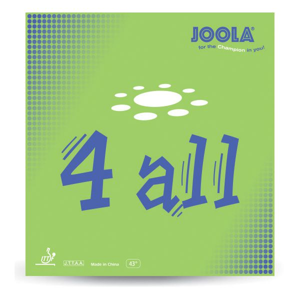 Joola JLA- Rubber 4 All Red Table Tennis Rubbers