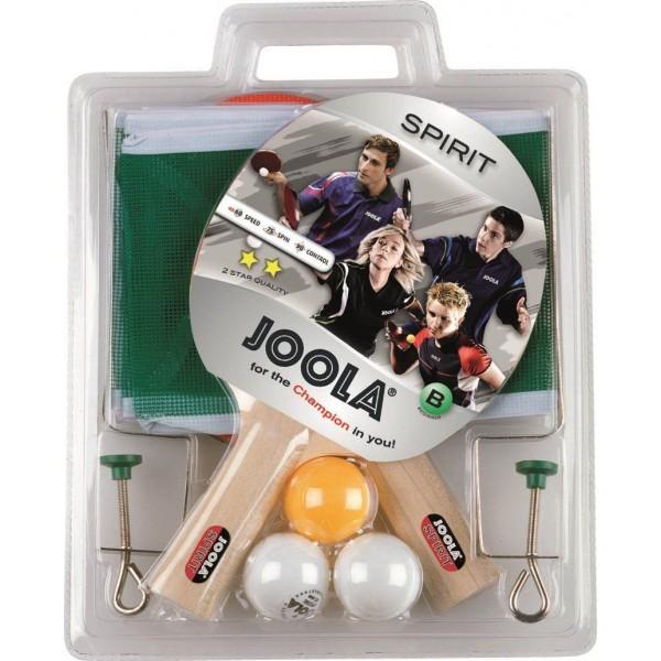 Joola JLA - Table Tennis Set Royal Spirit (2 Bats/3 Balls/1 Net)