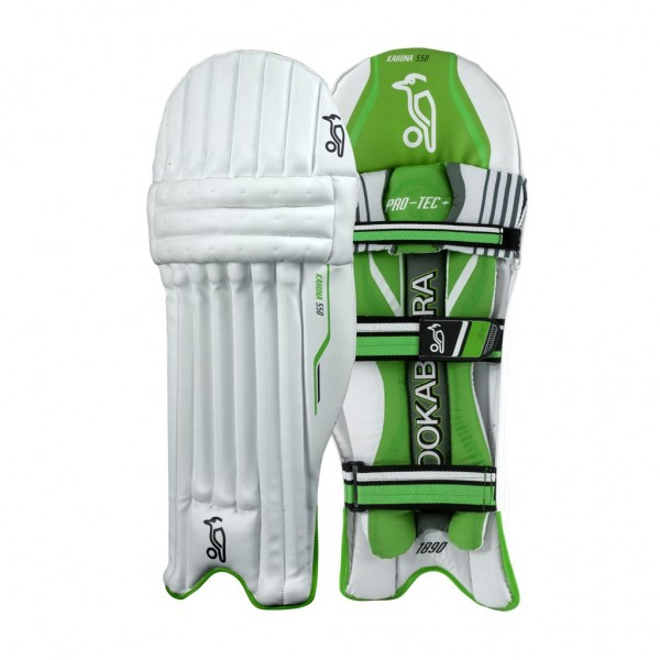 Kookaburra Kahuna 600 Cricket Batting Leg Guards (Mens)