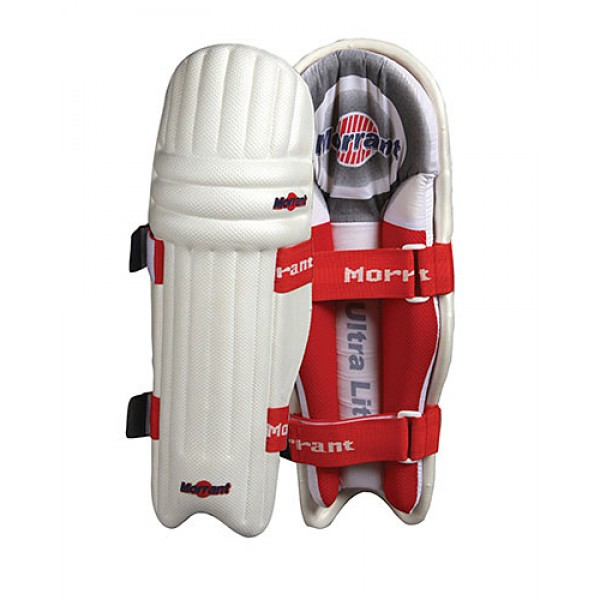 Morrant Super Ultralite Cricket Batting Legguards (Made in India)