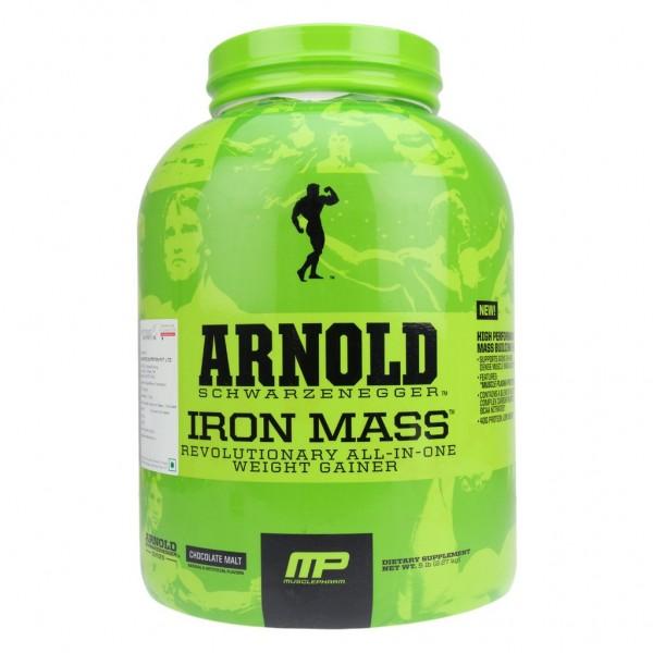 Arnold Series Iron Mass 2.27 kgs (5lbs) Veg (Chocolate)