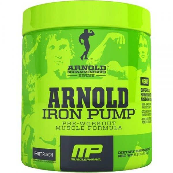 Arnold Series Iron Pump- 30 Serv (Raspberry Lemonade)