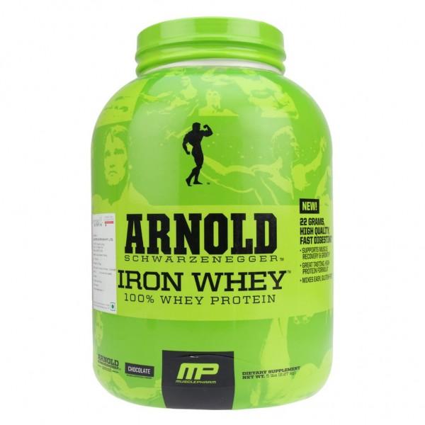 Arnold Series Iron Whey 2.27 kgs (5lbs) Veg (Chocolate)