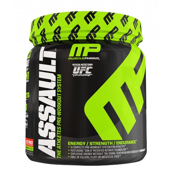 Musclepharm Assault- 30 Serv (Blue Raspberry)