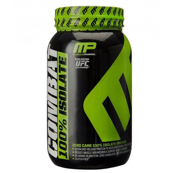 Musclepharm Combat 100% Isolate- 2Lbs (Chocolate Swirl)