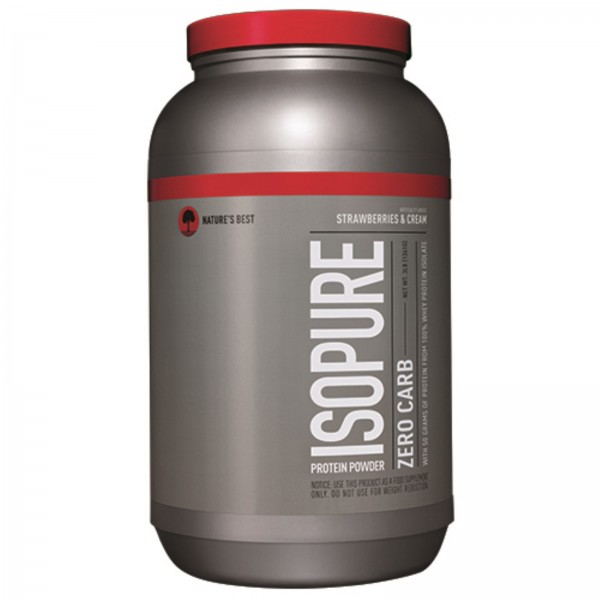 Nature's Best Isopure 3lbs (Strawberry Cream)