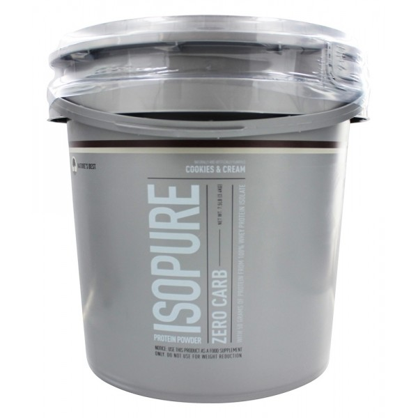 Nature's Best Isopure 7.5lbs (Cookies & Cream)