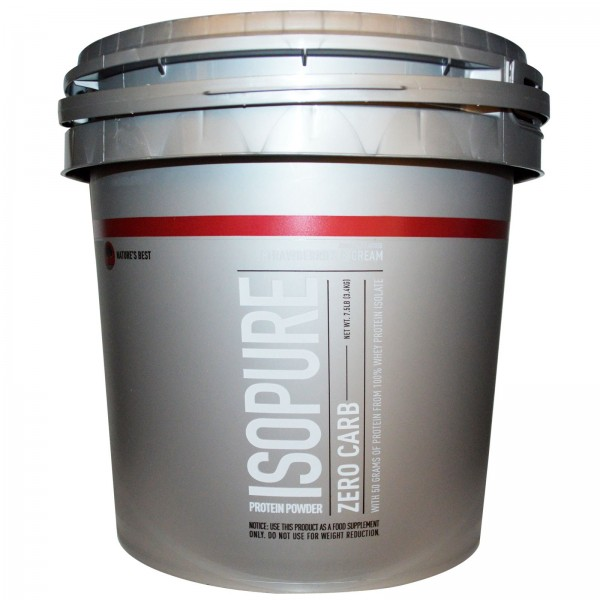 Nature's Best Isopure 7.5lbs (Strawberry Cream)