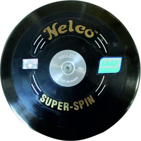 Nelco Discus S.S/R Super Spin Black 1.75 Kg