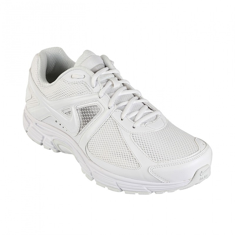Ligeramente Dedicación Conveniente  Buy Nike Dart 9 MSL W Running Shoes (White) @ Discounted Price on SportsGEO