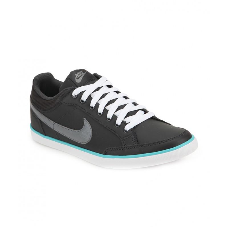 Buscar a tientas bosque traición  Buy Nike Capri III Low LTHR Sneakers (Dark grey) @ Discounted Price on  SportsGEO