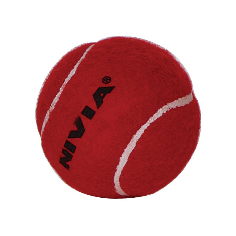 bc790eacd89 Buy Nivia Cricket Tennis Ball Light Weight (Set of 6) Red Online at Best  Price on SportsGEO